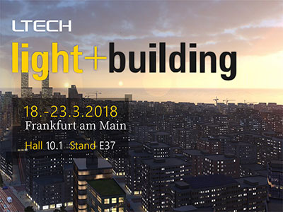 Frankfurt International Exhibition of lighting and building technology and equipment